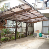 カーポート屋根の修理