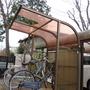 駐輪場の屋根修理-BEFORE02
