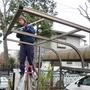 駐輪場の屋根修理-AFTER03
