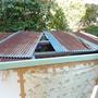物置の屋根修理-BEFORE02