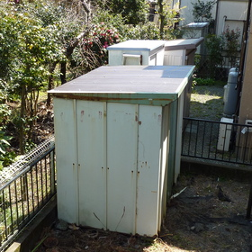 物置の屋根修理-AFTER01