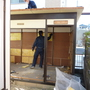 プレハブ小屋の解体-BEFORE04