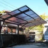 カーポートの屋根張替え