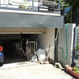 車庫の扉修理