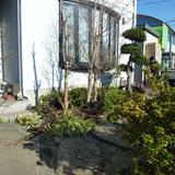 庭石の撤去工事