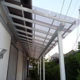 テラス屋根の張替え