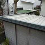 物置の屋根修理