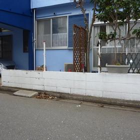 ブロック塀の解体工事-BEFORE01