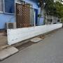 ブロック塀の解体工事-BEFORE02