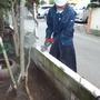 ブロック塀の解体工事-BEFORE03