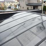 カーポートの屋根洗浄