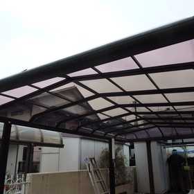 カーポート屋根張替え工事-AFTER01