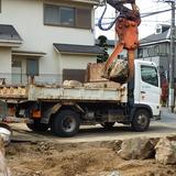 庭石の回収処分