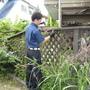 ウッドデッキの解体と草取り-BEFORE03