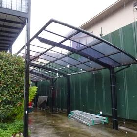 カーポート屋根張替え工事-BEFORE01