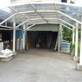 プレハブ小屋の解体