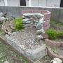 花壇の解体とブロック処分-BEFORE02