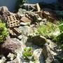花壇の解体とブロック処分-BEFORE03
