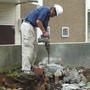 花壇の解体とブロック処分-AFTER02