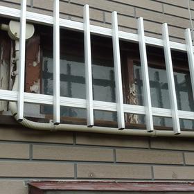 窓枠の塗装工事-BEFORE01
