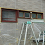 窓枠の塗装工事-BEFORE04