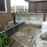 植木鉢の回収撤去