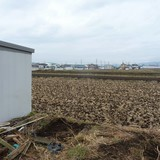 仮設トイレの解体撤去