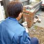 門柱レンガの解体撤去-BEFORE02