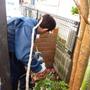 門柱レンガの解体撤去-BEFORE03