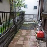 物置撤去と庭周りの片付け