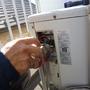エアコンの移設工事-BEFORE04
