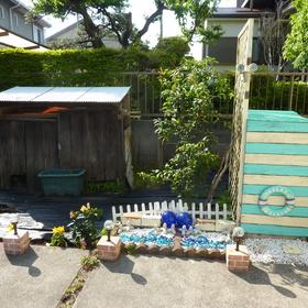 お庭の片付け-BEFORE01