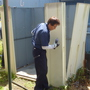 物置の解体撤去作業-BEFORE04