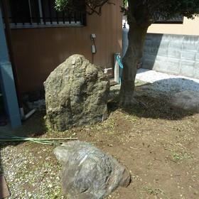 庭石の撤去工事-BEFORE01