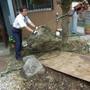 庭石の撤去工事-BEFORE02