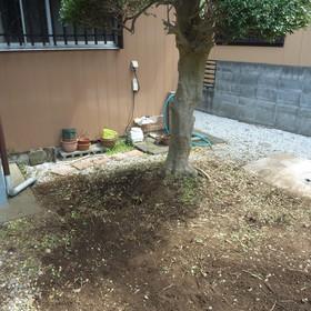 庭石の撤去工事-AFTER01