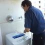 洗濯機、照明の買換え交換-BEFORE04