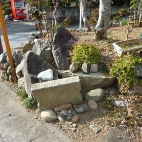 庭石・玉石の撤去-BEFORE01