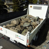 庭石・玉石の撤去