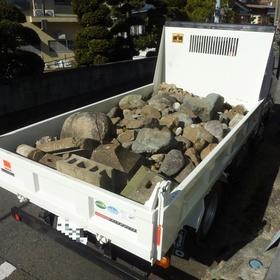 庭石・玉石の撤去-AFTER01