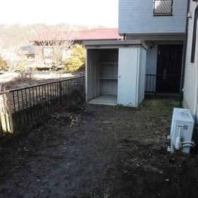 裏庭の整理、片付け-AFTER01
