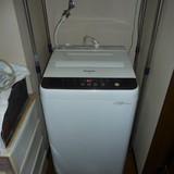 洗濯機の移動