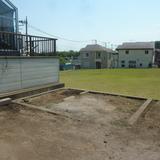 鳥小屋の解体工事