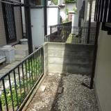 物置の解体、庭周りの片付け