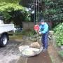 庭石の撤去作業-BEFORE02