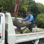 庭石の撤去作業-BEFORE04