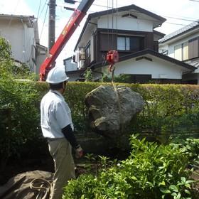 庭石の撤去処分-AFTER01