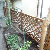 フェンスの設置工事