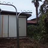 プレハブ小屋の解体撤去