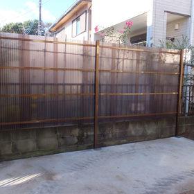 目隠しフェンスの設置-AFTER01